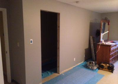 Master Bedroom Closet Addition