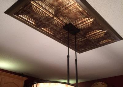 Kitchen Bar Lighting Installation