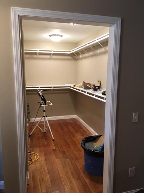 Master Closet Re-Design