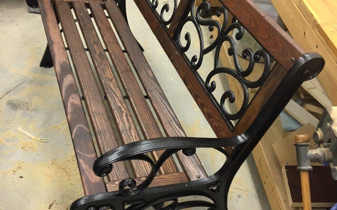 Park Bench Overhaul