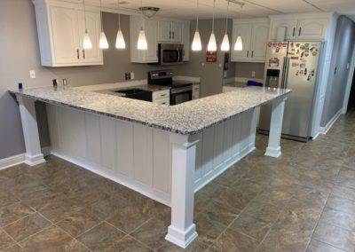 Basement Kitchen Complete Remodel