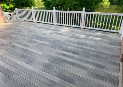 Deck Rebuild Project-Composite Decking-Improved Structure