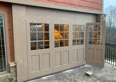 Custom Deck Partition Walls