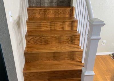 Stair Tread/Bannister Installation